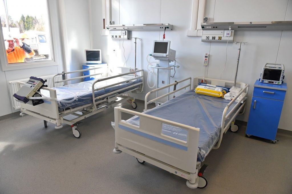 фото палат в новом госпитале в Тинао
