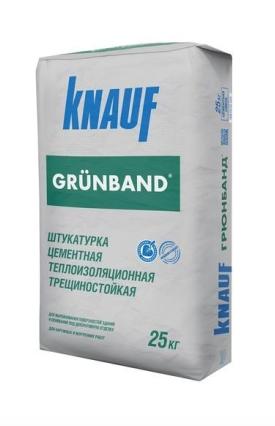 грюнбанд - цементная штукатурка