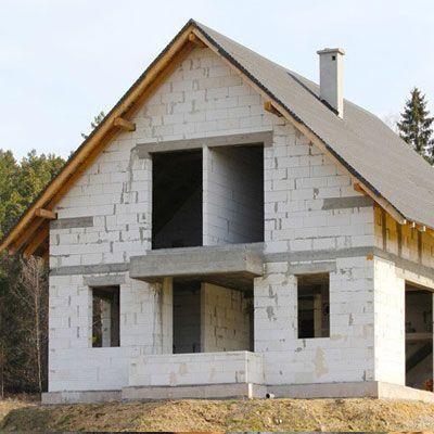 ошибки строительства дома из газобетона
