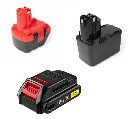 аккумуляторы для шуруповертов