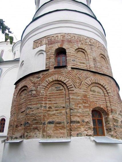 Чернигов. Собор Спаса Преображения, 11 век
