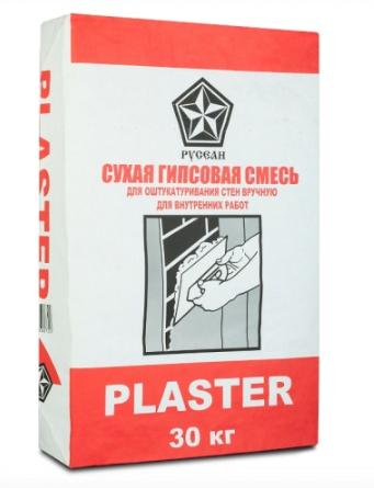 русеан пластер - гипсовая штукатурка