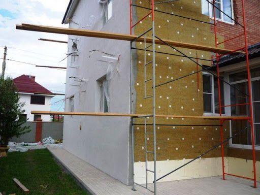 мокрый фасад нанесение